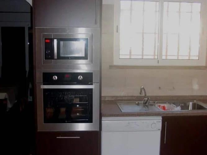 Remodelação de cozinha - Forno e Microondas encastrados