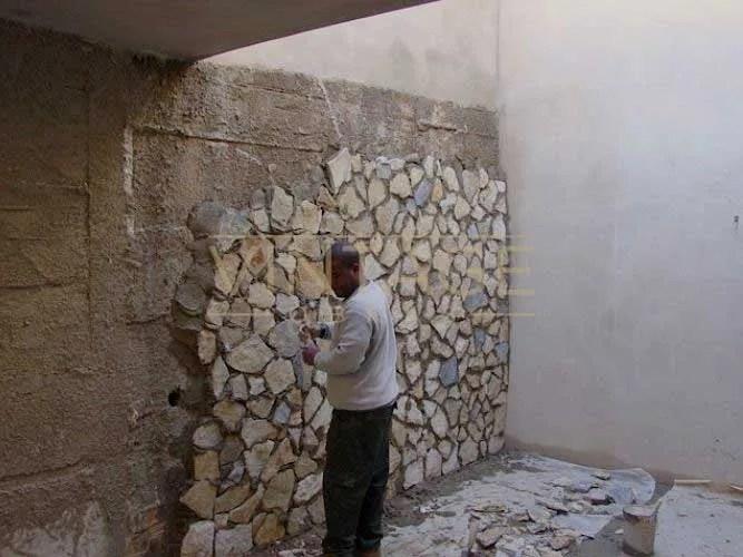 Remodelação de exterior: Revestimento de pedra