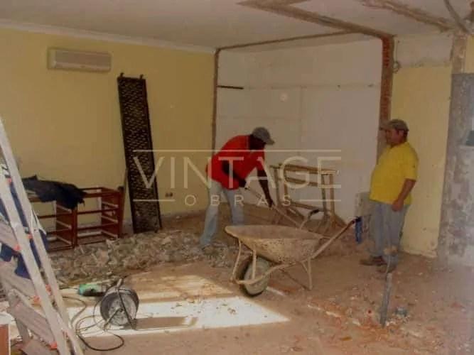 Remodelação de interior: Demolições