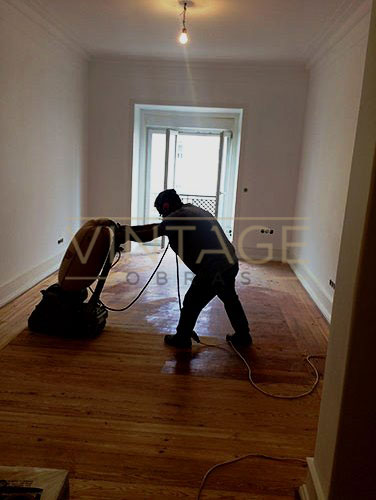 Afagamento de pavimento