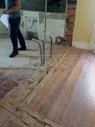 Demolição de paredes para ampliação de cozinha