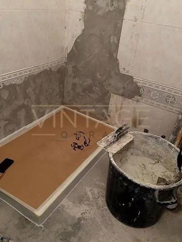 Substituição de banheira por poliban