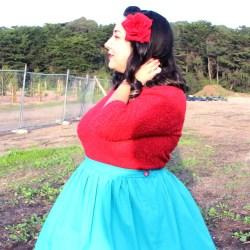 Dirndl Skirt, 50s Fashion | @vintageontap