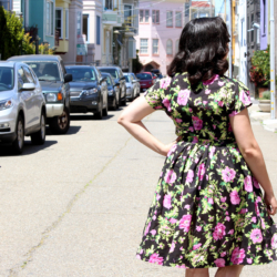 Butterick B5895, matching dirndl and top set | @vintageontap