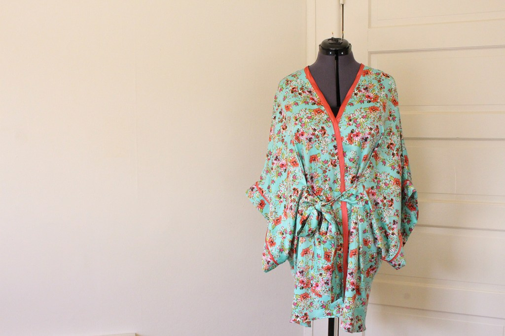Completed Seamwork Alamada Robe | @vintageontap