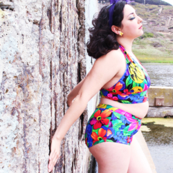 Pinup Bathing Suit, McCalls 7168 | @vintageontap
