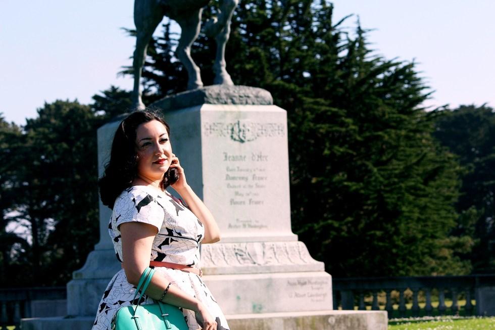 Next to Joan of Arc, Colette Rue Dress | @vintageontap