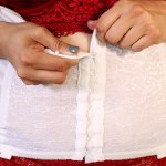 Rago Shapewear Girdle, Pinup Weightloss as a Seamstress | @vintageontap
