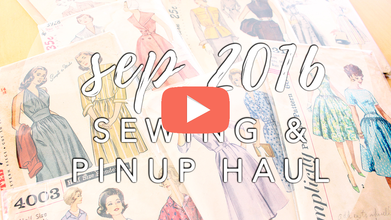 September Sewing Haul   Vintage on Tap