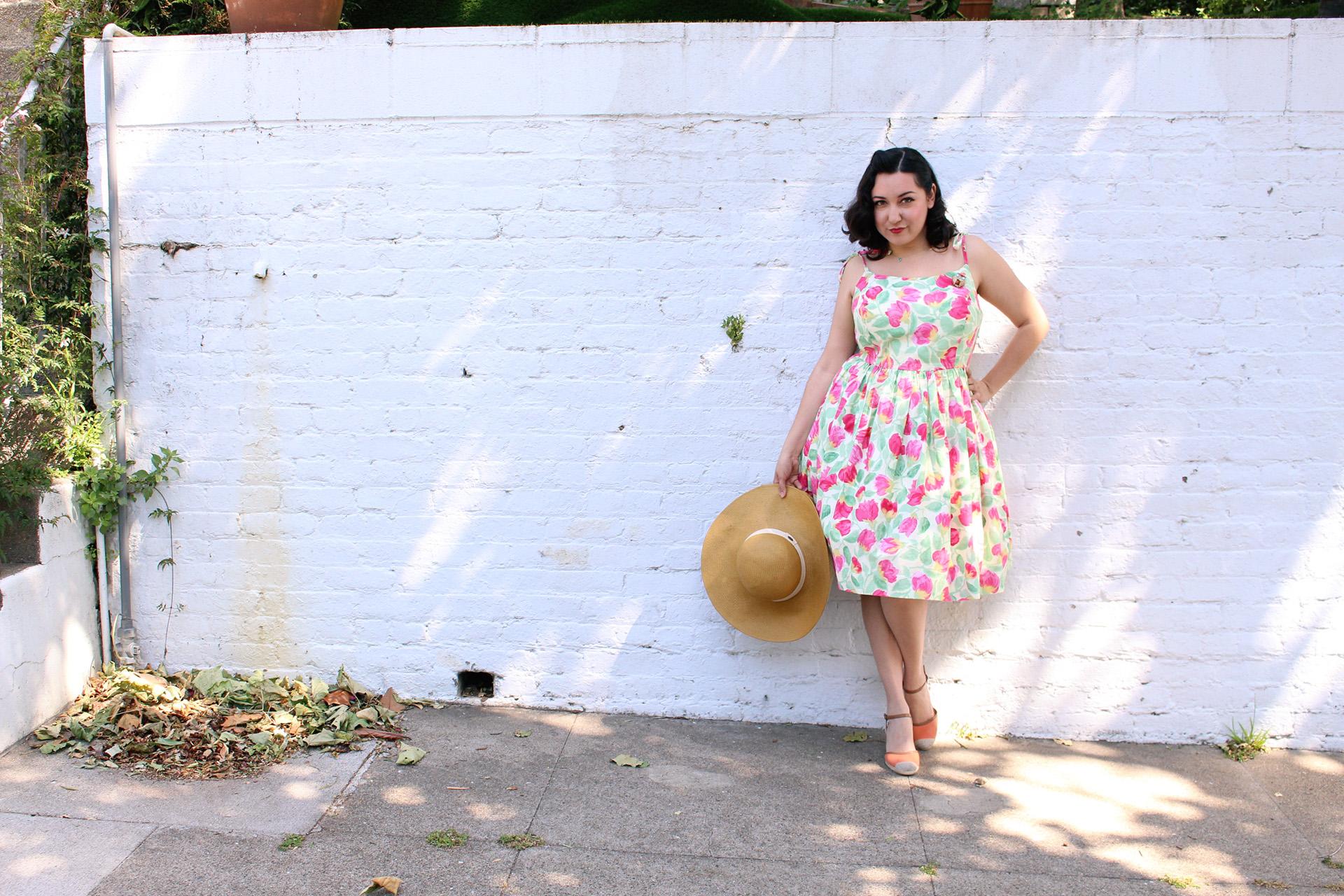 Patterns by Gertie, Butterick 6453, Jenny Dress sew along | Vintage on Tap