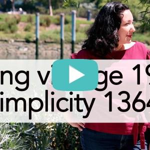 Vintage Simplicity 1364 | Vintage on Tap
