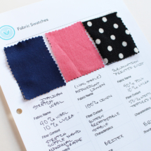 Fabric Swatch Book, Free Download | Vintage on Tap