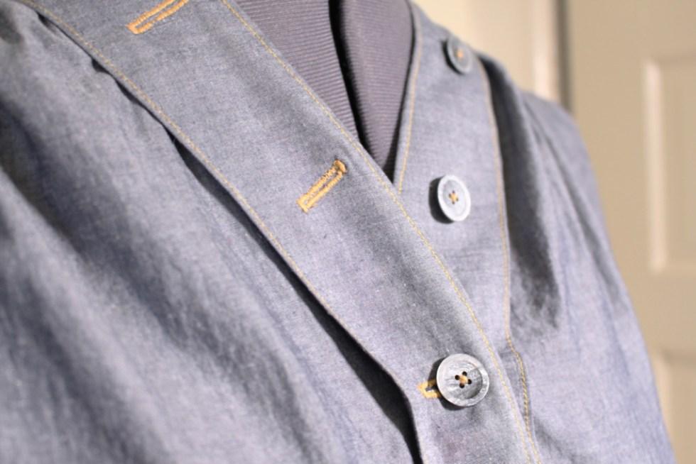 Button detail, Britex Fabrics vintage buttons | Vintage on Tap