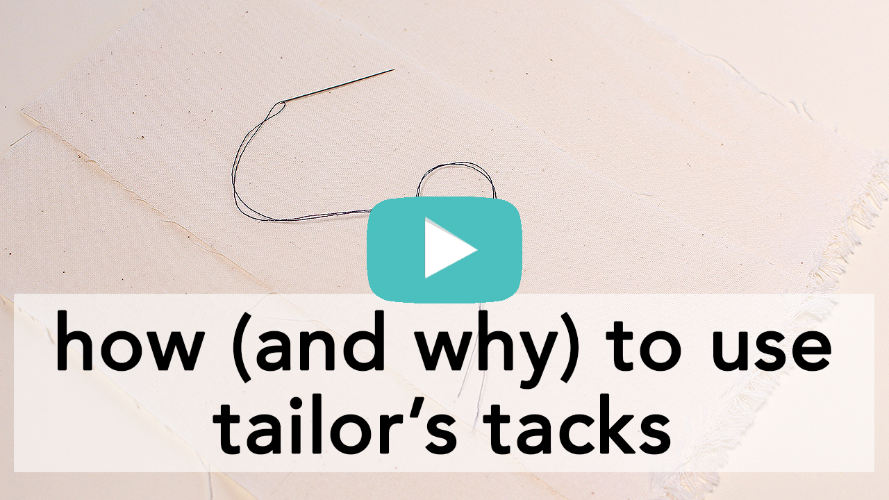 How and Why to Use Tailor's Tacks   Vintage on Tap