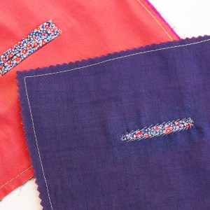How to Sew Bound Buttonholes through a facing or lining, video tutorial | Vintage on Tap