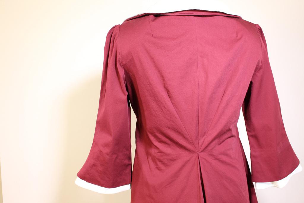 Back view, Vintage Vogue 9280 | Vintage on Tap