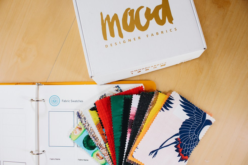 Learn about the Mood Swatch Club and why it's perfect to build your swatch book for sewing! Video tips and real thoughts on this great resource! | Vintage on Tap Pinup Sewing Blog