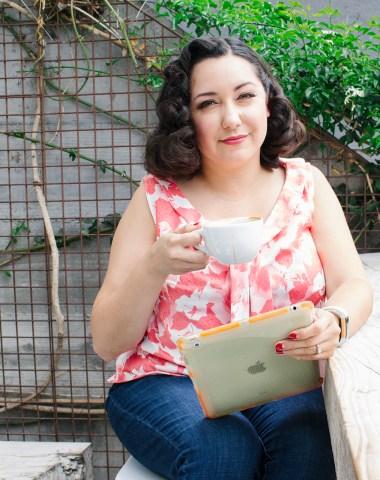 Bianca Santori from Vintage on Tap sewing blog   Vintage on Tap