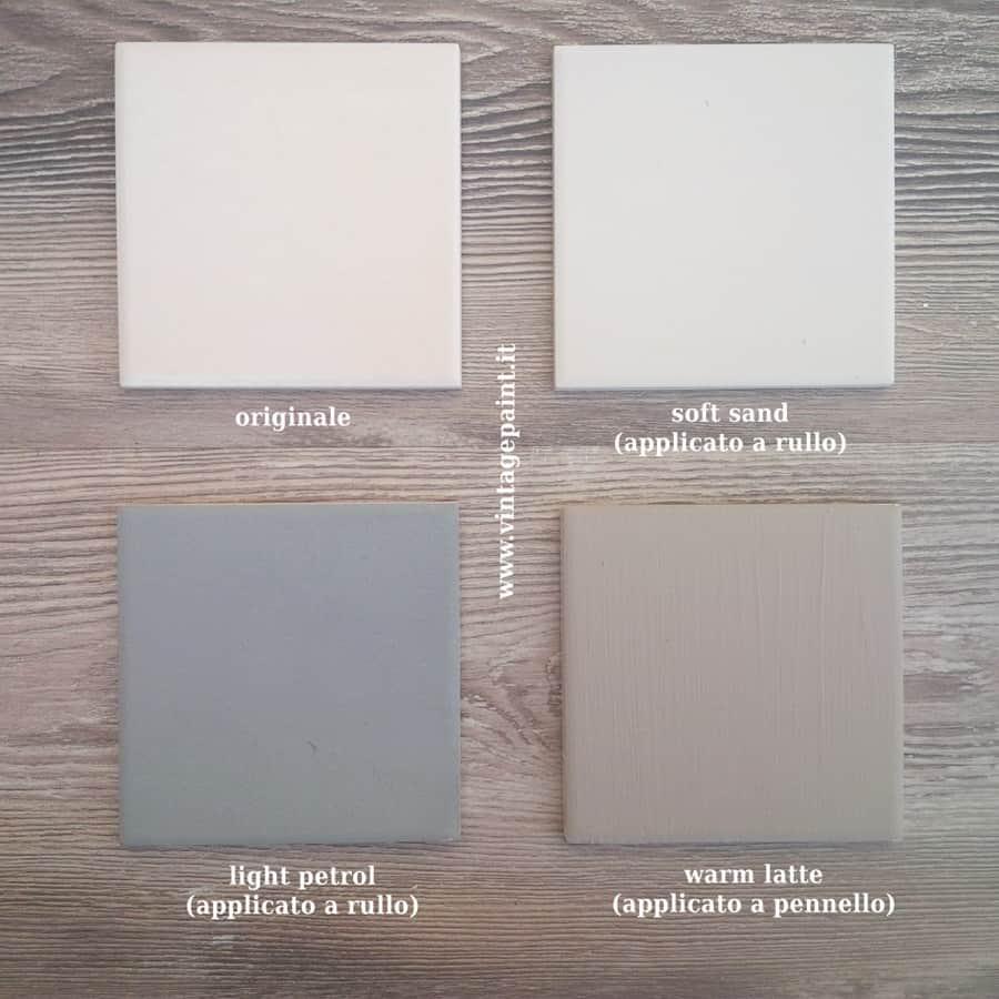 Tutorial e prove pratiche con la Vintage chalk Paint