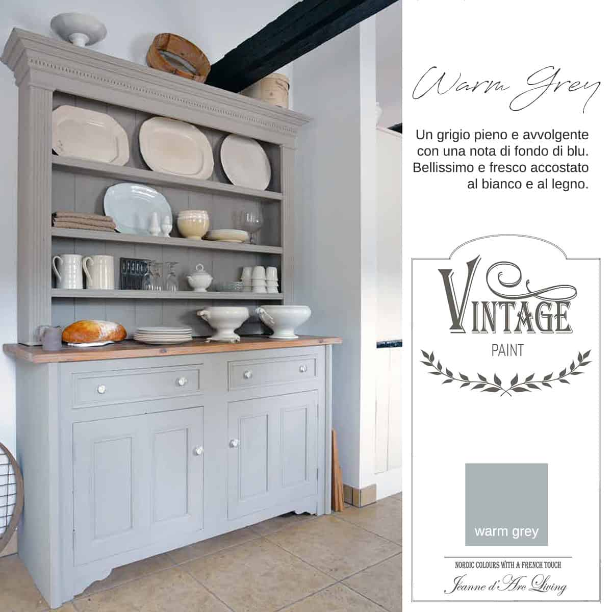 Warm Grey Vernice Vintage Chalk Paint Vintagepaint