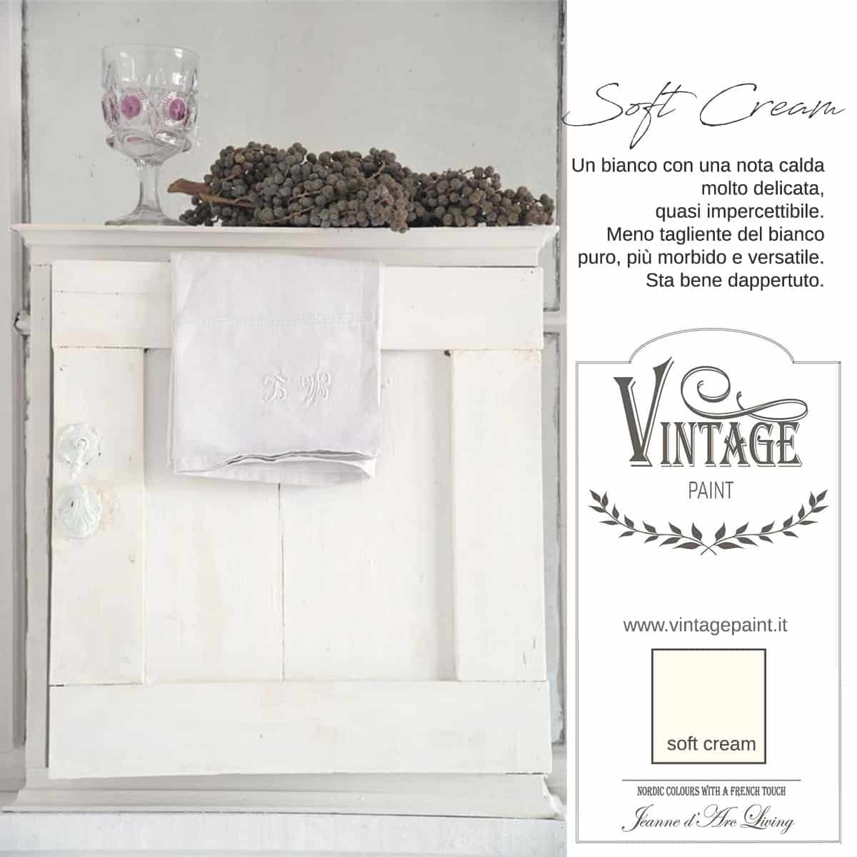 Soft Cream Vernice Vintage Chalk Paint Vintagepaint