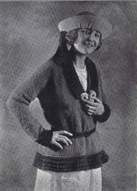 20s Knitted hiking Jacket