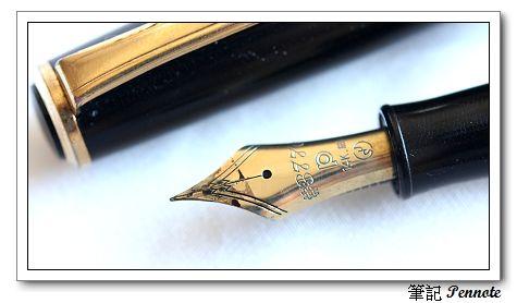 筆尖夾痕與墨水