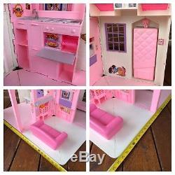 Vintage Barbie Folding Pretty House 16961 Dollhouse