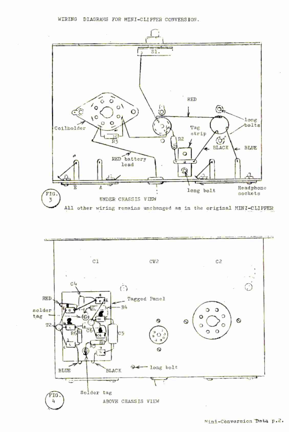 circuit diagram of clipper and clamper prs s2 wiring vintage radio electronics codar mini receiver