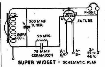 1t4 Single Tube Receiver Schematic Clarification