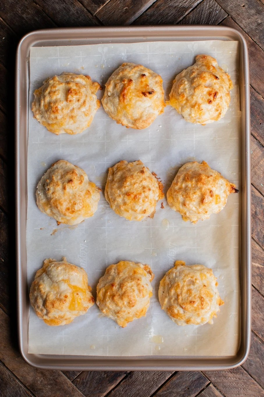 Bisquick Cheddar Garlic Biscuits