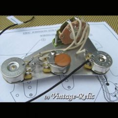 Fender Stratocaster 5 Way Switch Wiring Diagram John Deere 1020 Alternator Strat: Eric Johnson .1uf Disc | Vintage Relicguitar Relic'ing Aging, Aged Guitar Parts, Custom ...