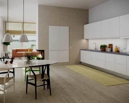 Remodelações de interiores com kitchenette.