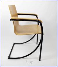 Vintage EMBRU 'Mid Century Modern Retro Plywood Armchairs ...