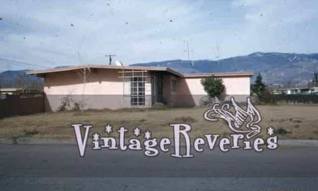 1960s western house and neighborhood pictures