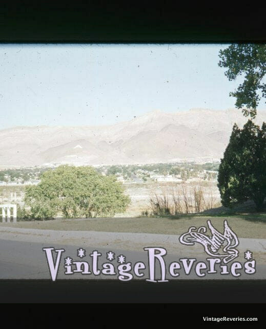 1950s roadside western picture