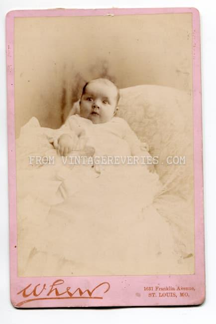 victorian baby photo