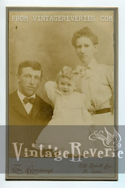 1800s family portrait