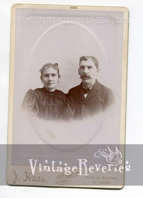 turn of the century couple