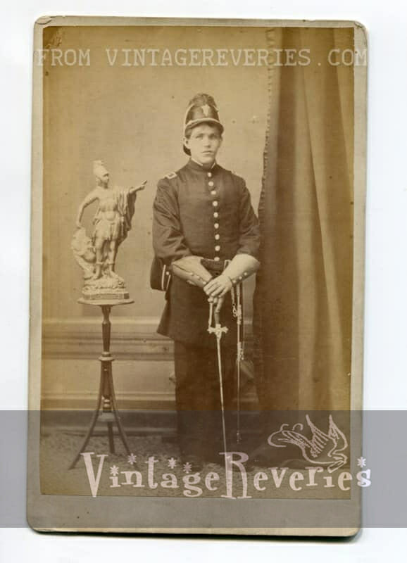 old soldier photo