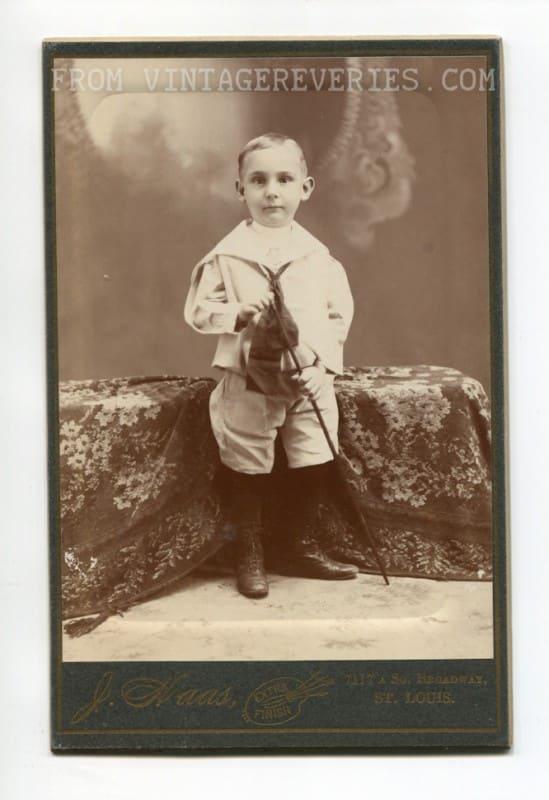turn of the century child photo