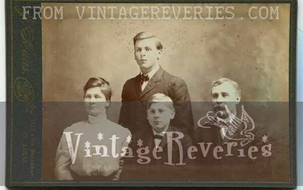 Old Family Photos from 1880s to 1942