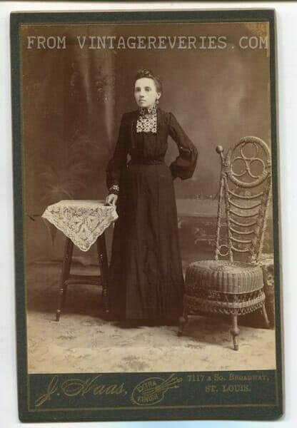 stiff victorian girl