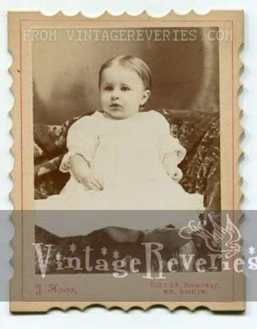 1920s baby portrait