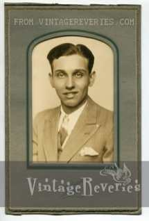 1930 young man