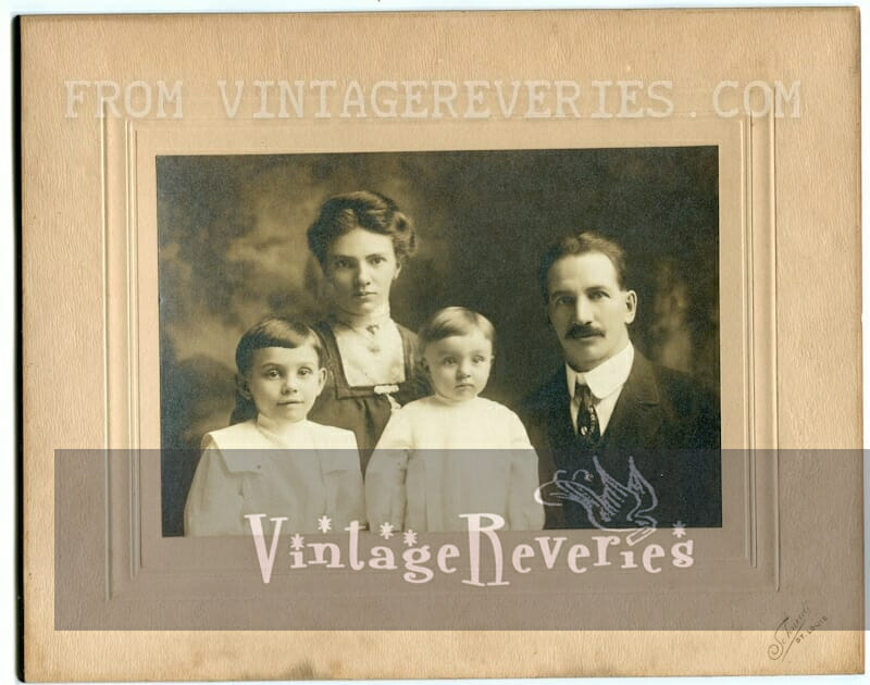 Family photos from 1913 and the early part of the 1900s