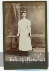 young woman turn of the century