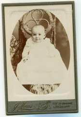 1890s baby photo