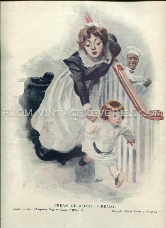 Cream of Wheat Advertisement - April 1917 The Modern Priscilla Magazine