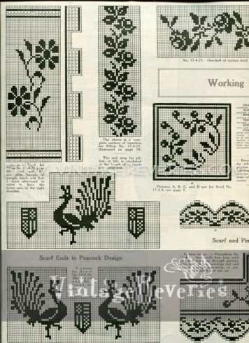 Free Filet Crochet Pattern